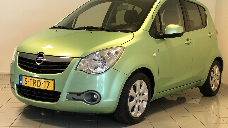 Opel Agila Hatchback 2009 5-TRD-17 1