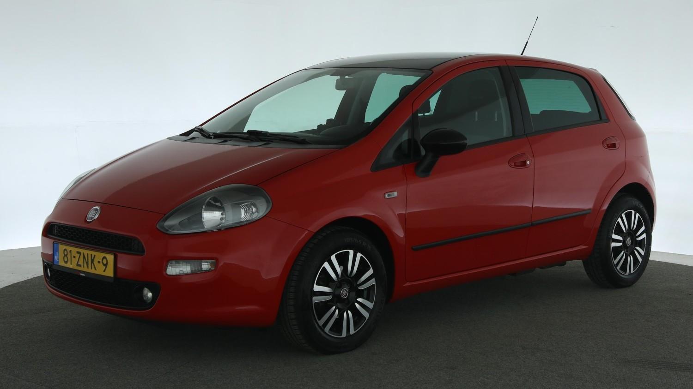 Fiat Punto Evo Hatchback 2012 81-ZNK-9 1