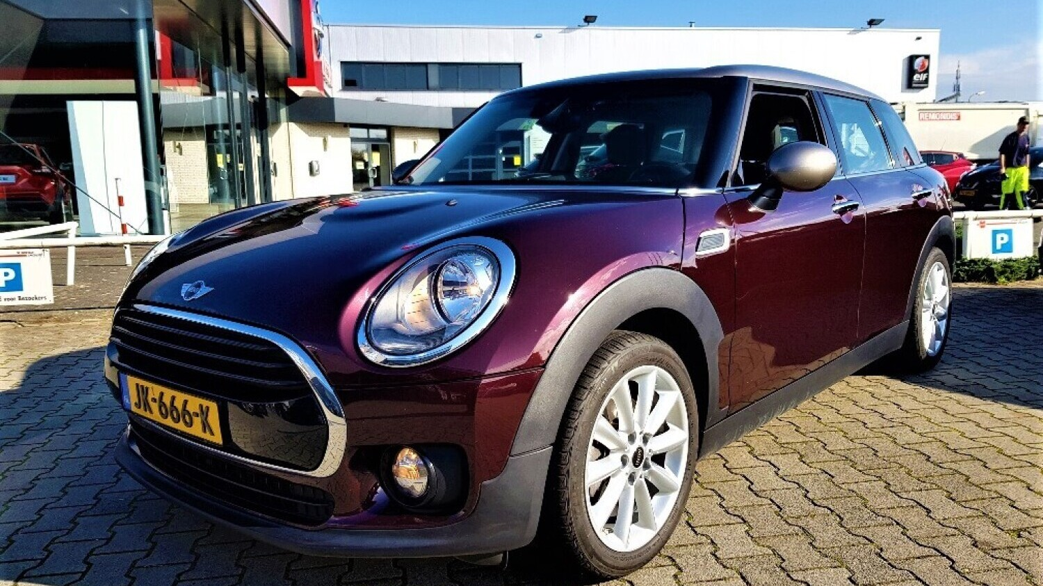 Mini Clubman Station 2016 JK-666-K 1