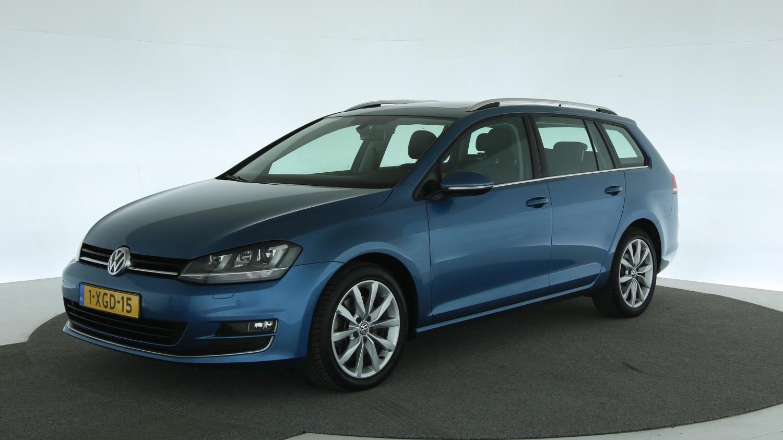 Volkswagen Golf Station 2014 1-XGD-15 1