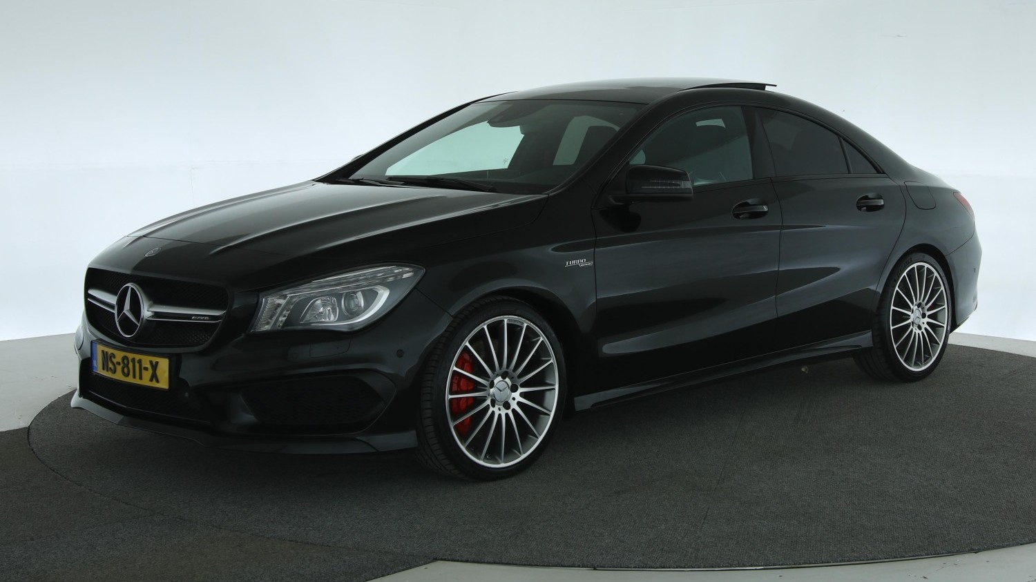 Mercedes-Benz CLA-klasse Sedan 2014 NS-811-X 1
