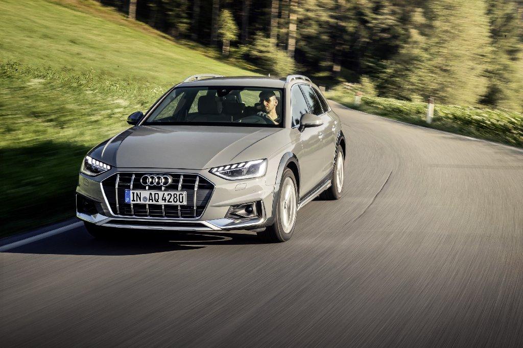 Audi a4 modellen vaartland